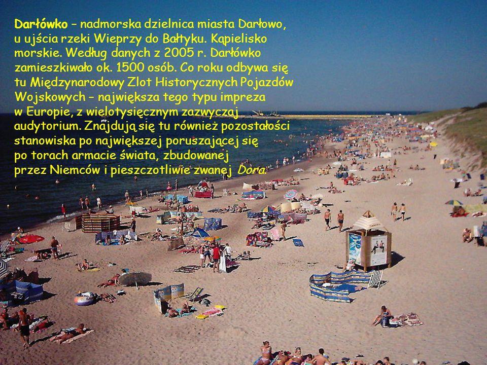 Darłówko – nadmorska dzielnica miasta Darłowo,
