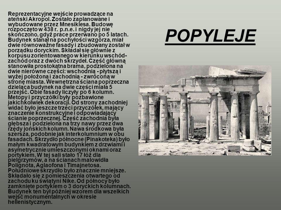 Reprezentacyjne wejście prowadzące na ateński Akropol