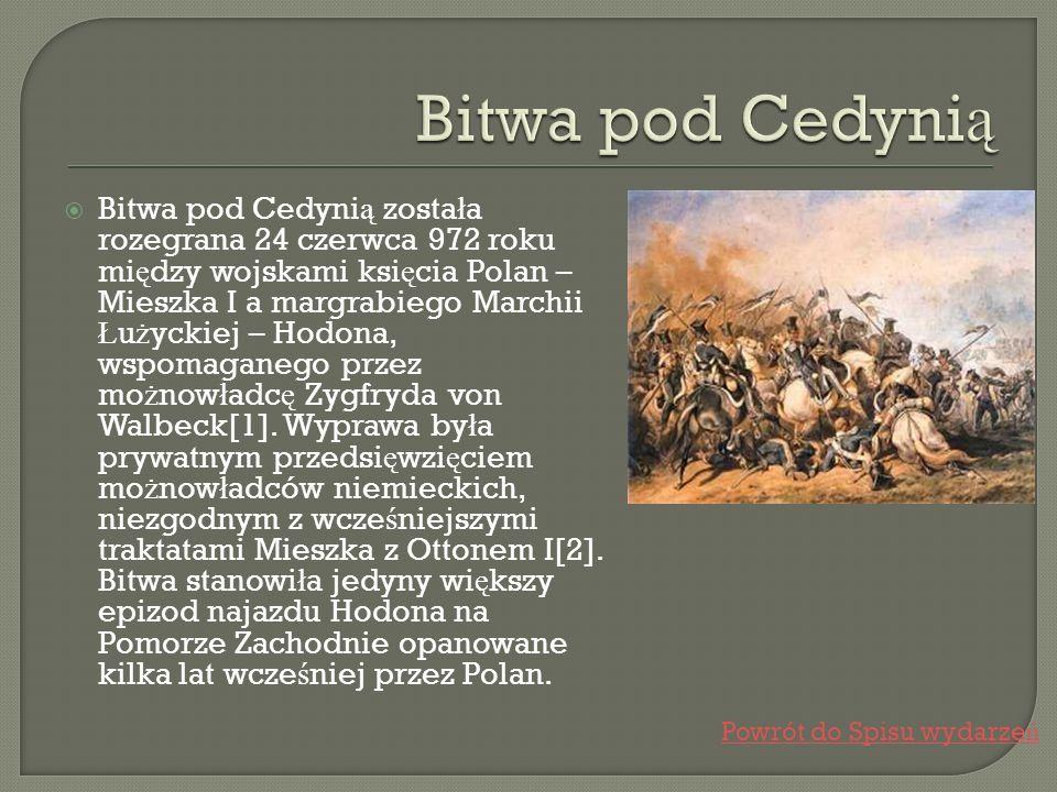 Bitwa pod Cedynią