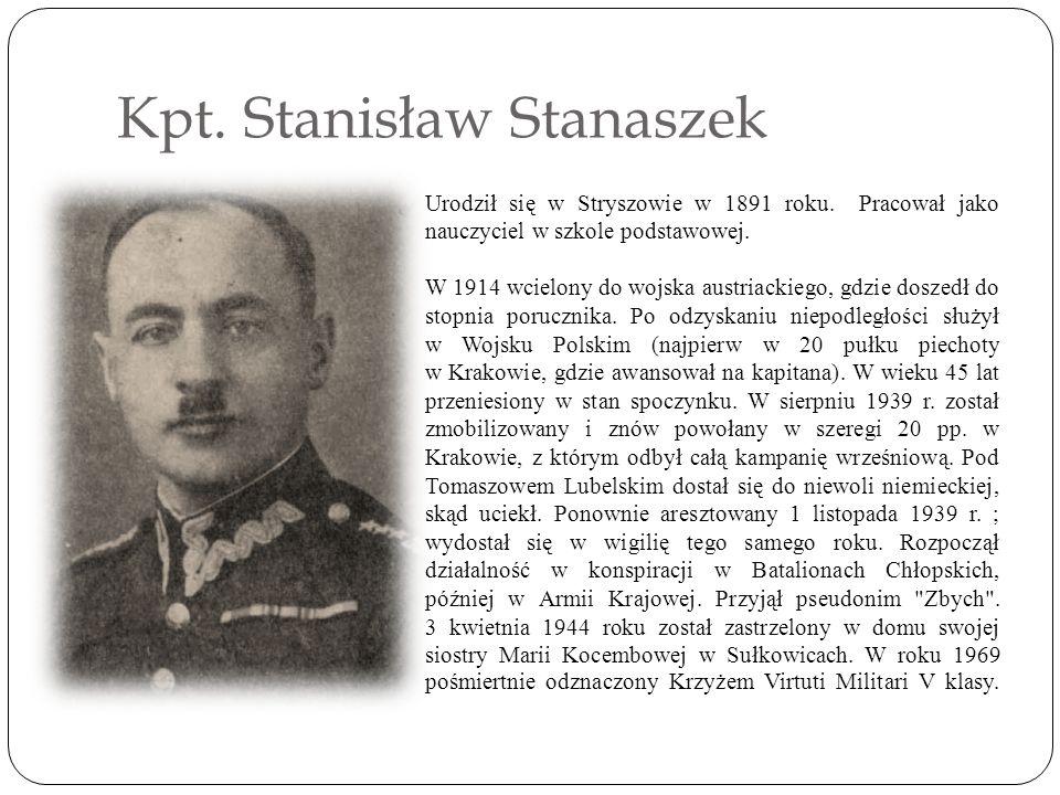 Kpt. Stanisław Stanaszek