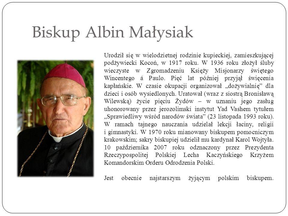 Biskup Albin Małysiak