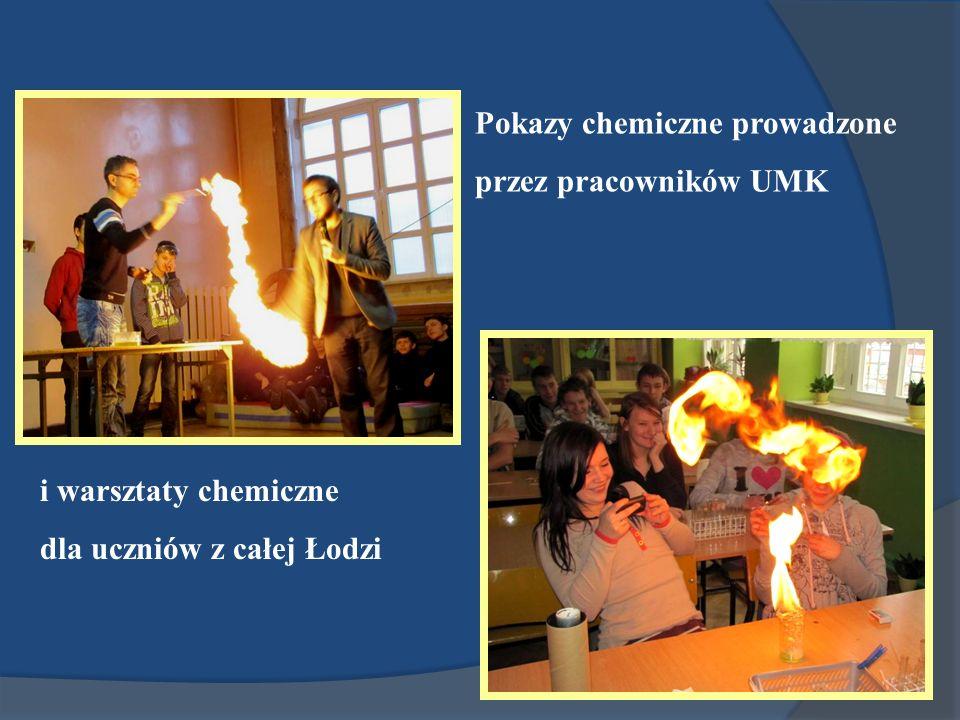 Pokazy chemiczne prowadzone