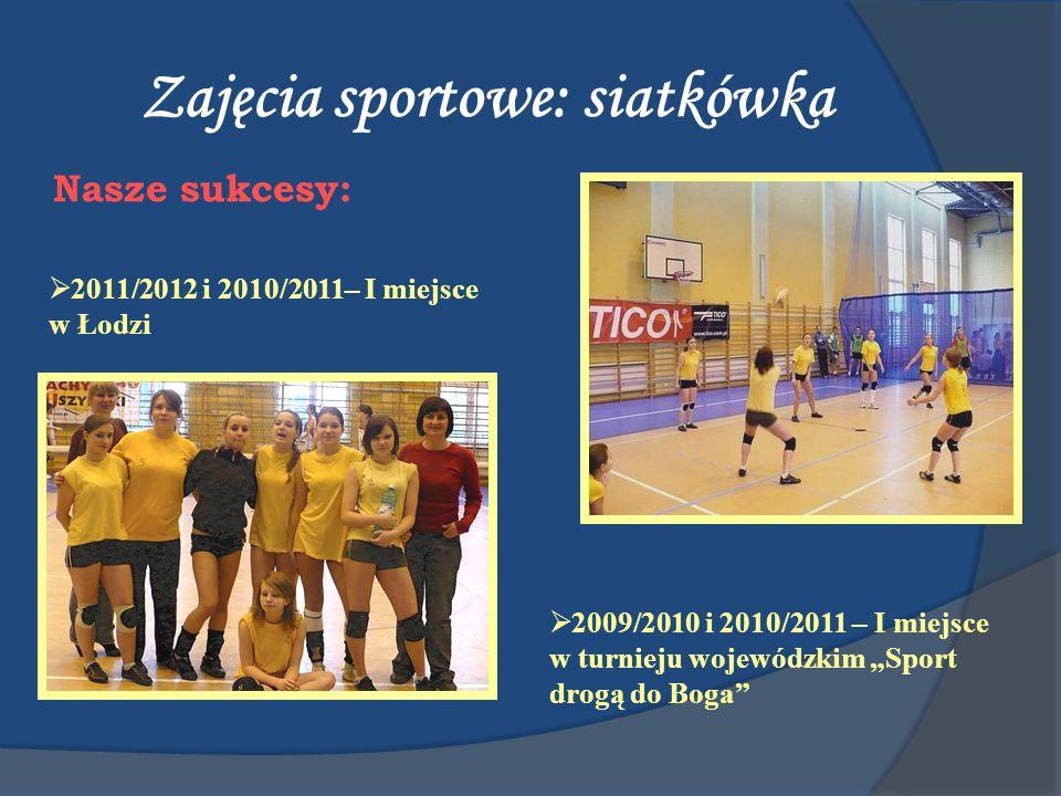 Zajęcia sportowe: siatkówka