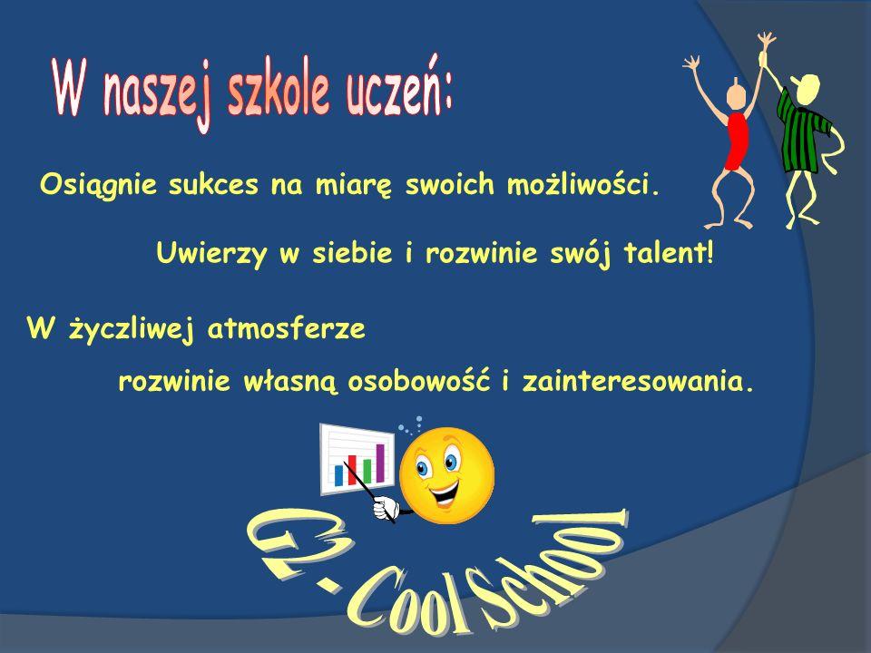 W naszej szkole uczeń: G2 - Cool School
