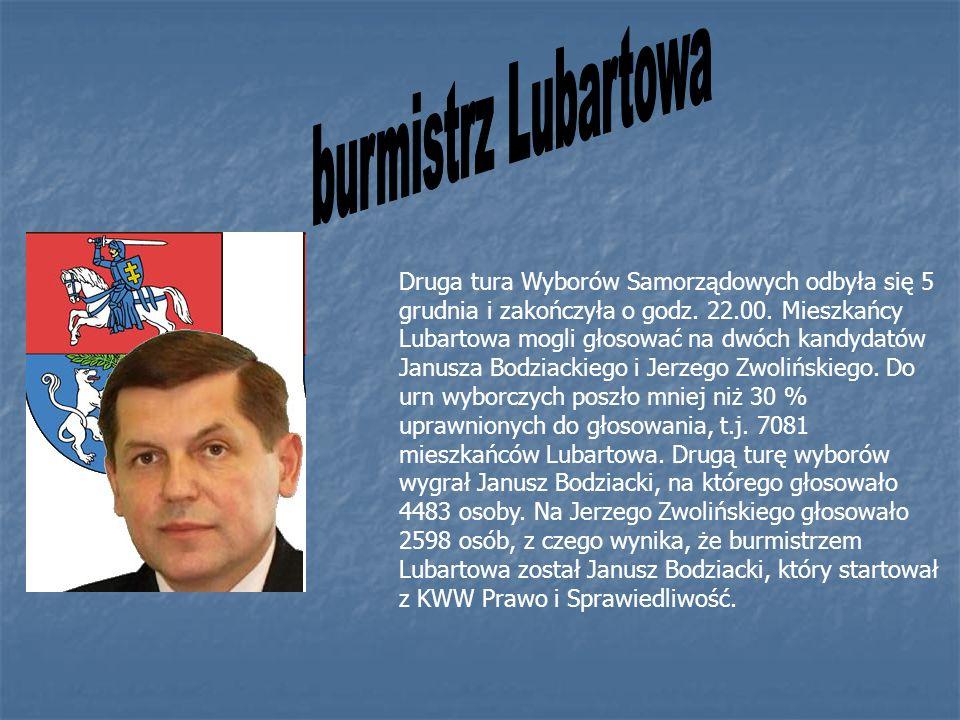 burmistrz Lubartowa