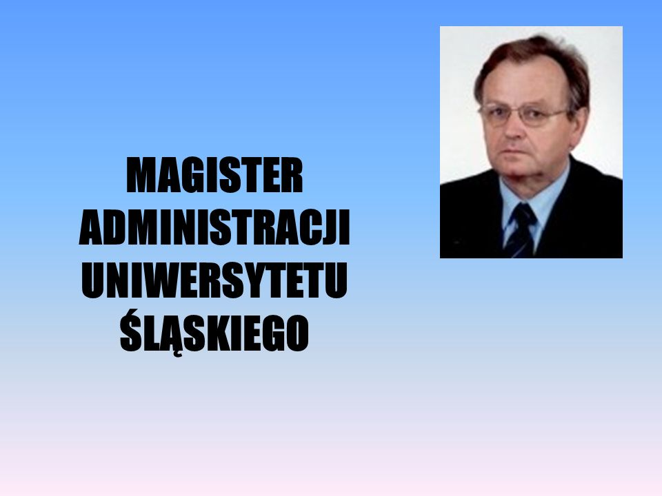 MAGISTER ADMINISTRACJI