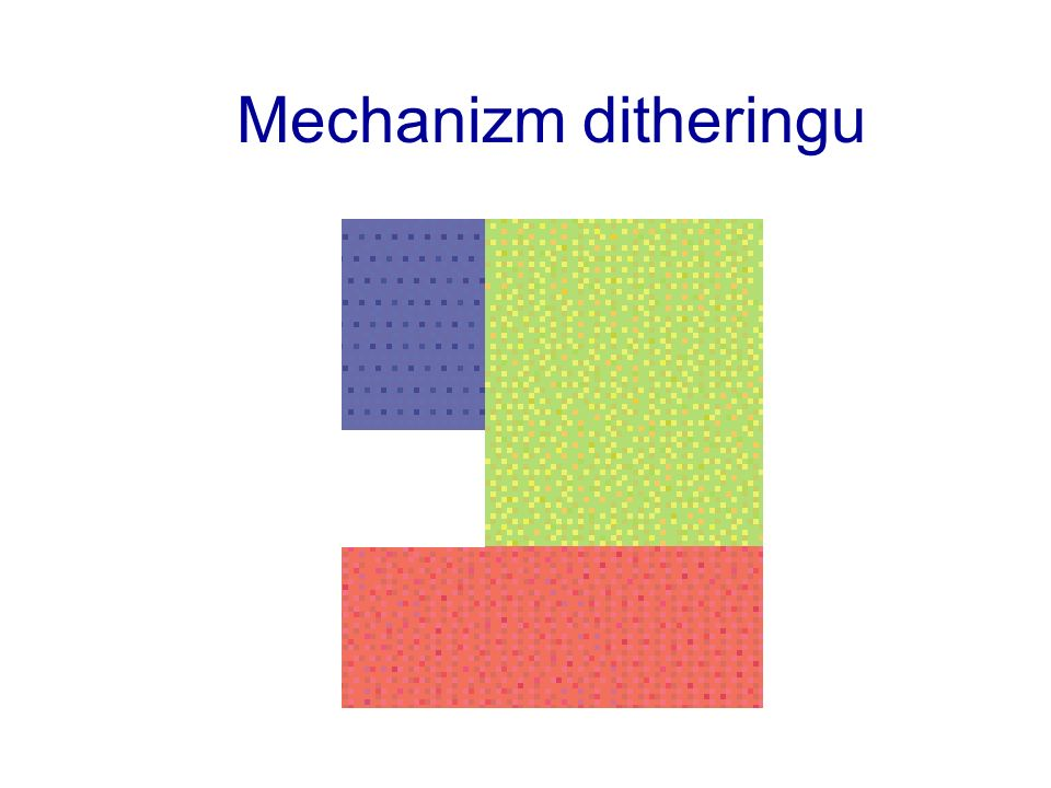 Mechanizm ditheringu