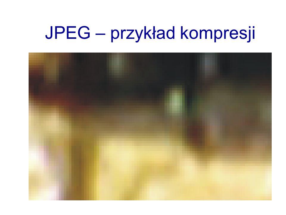 JPEG – przykład kompresji