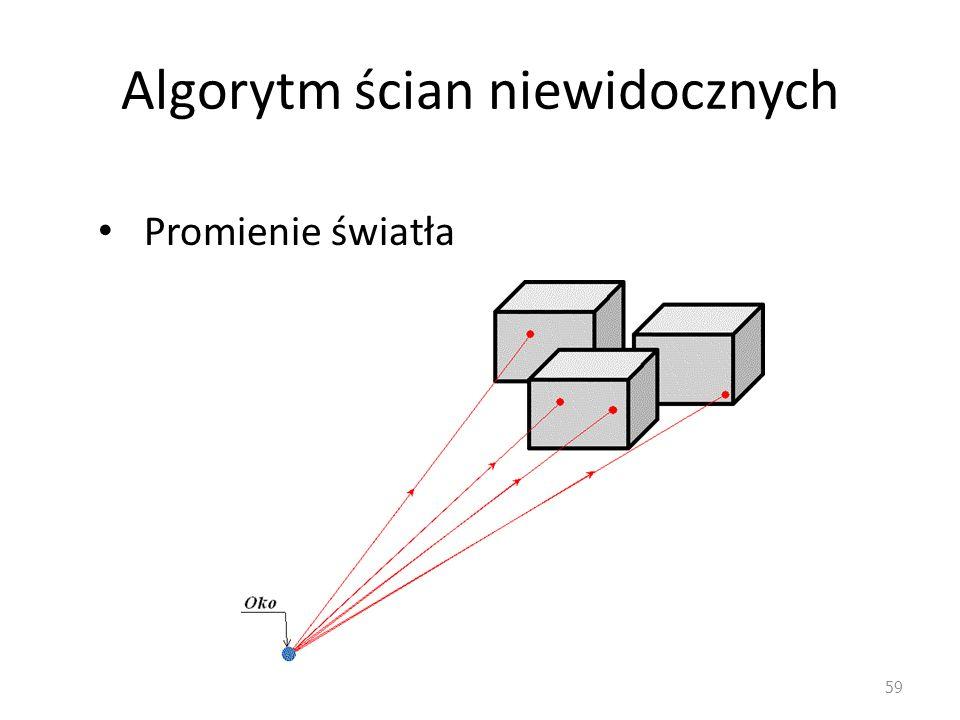 Algorytm ścian niewidocznych