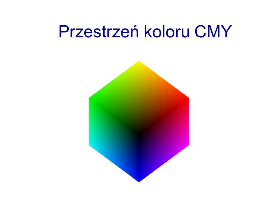 Przestrzeń koloru CMY