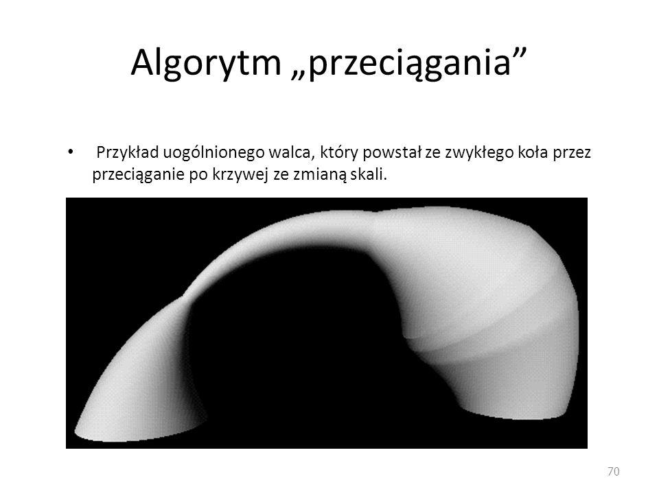 """Algorytm """"przeciągania"""