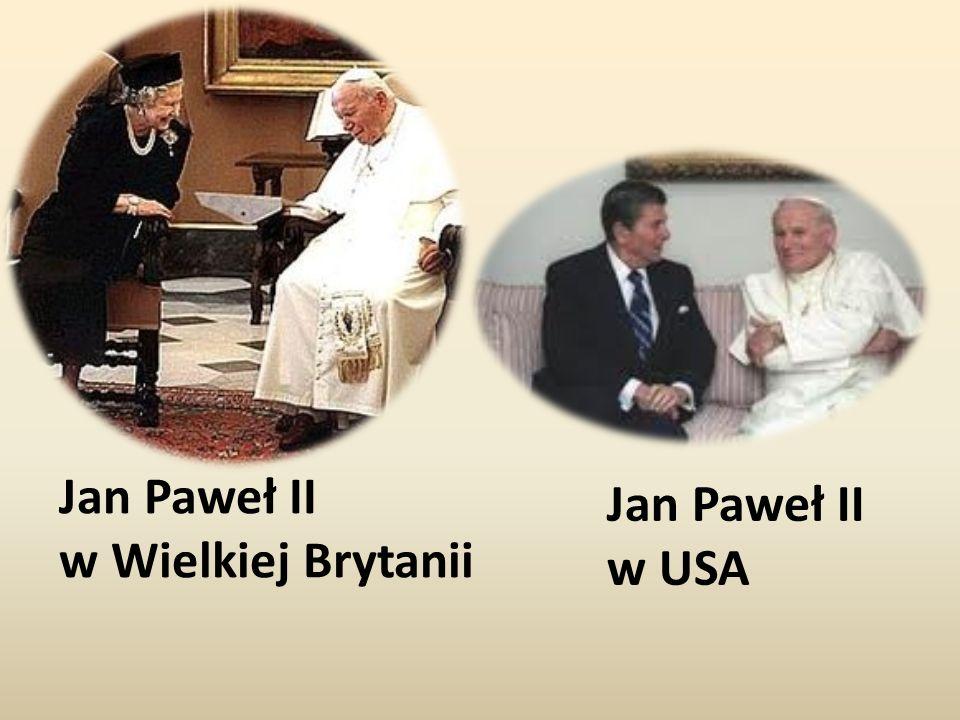 Jan Paweł II w Wielkiej Brytanii