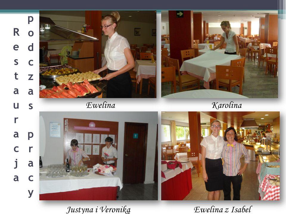 Restauracja podczas pracy