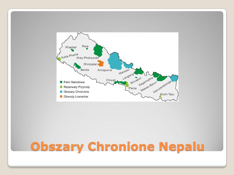 Obszary Chronione Nepalu