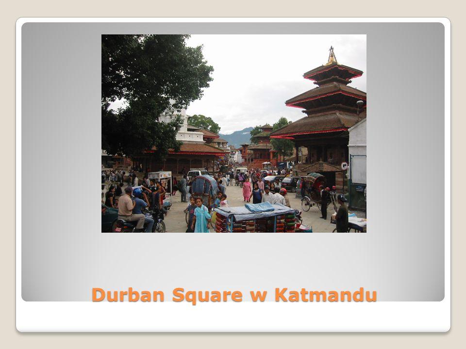 Durban Square w Katmandu