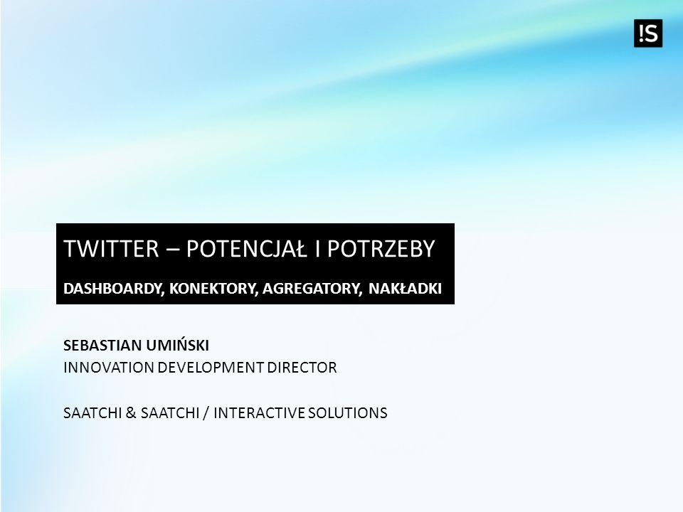 Twitter – potencjał i potrzeby