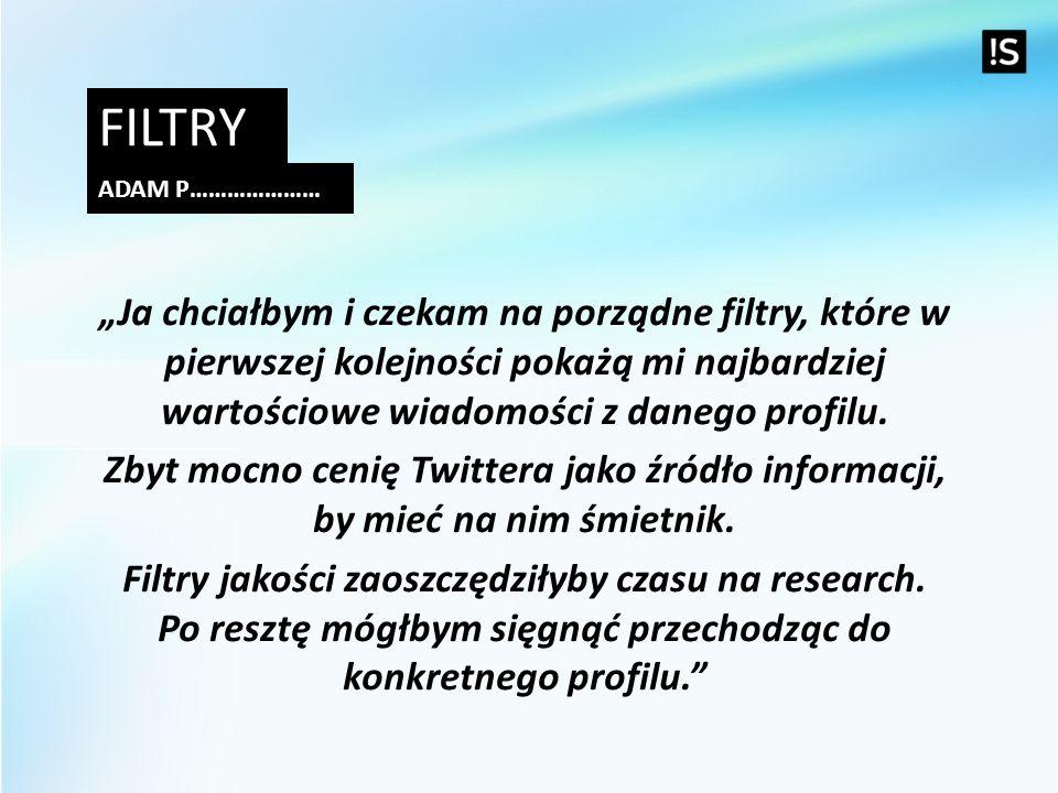 Filtry Adam p…………………
