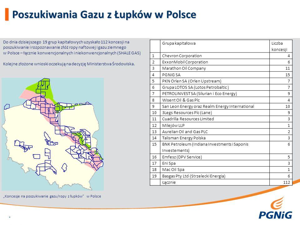 Poszukiwania Gazu z Łupków w Polsce