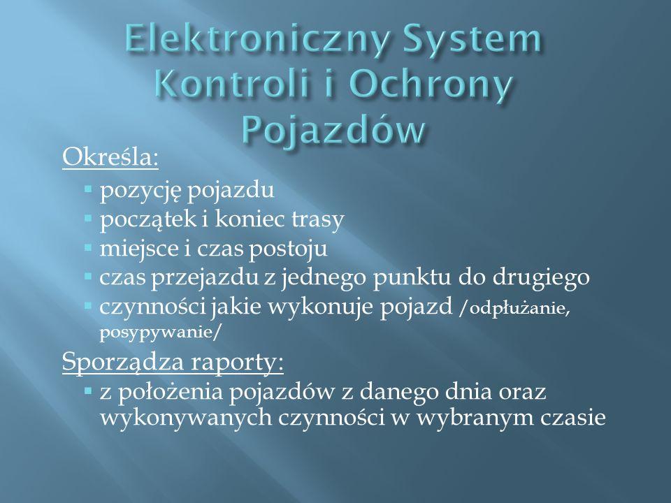 Elektroniczny System Kontroli i Ochrony Pojazdów