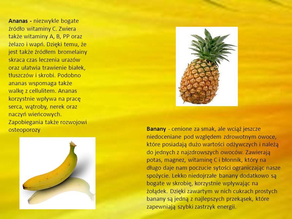 Ananas - niezwykle bogate źródło witaminy C