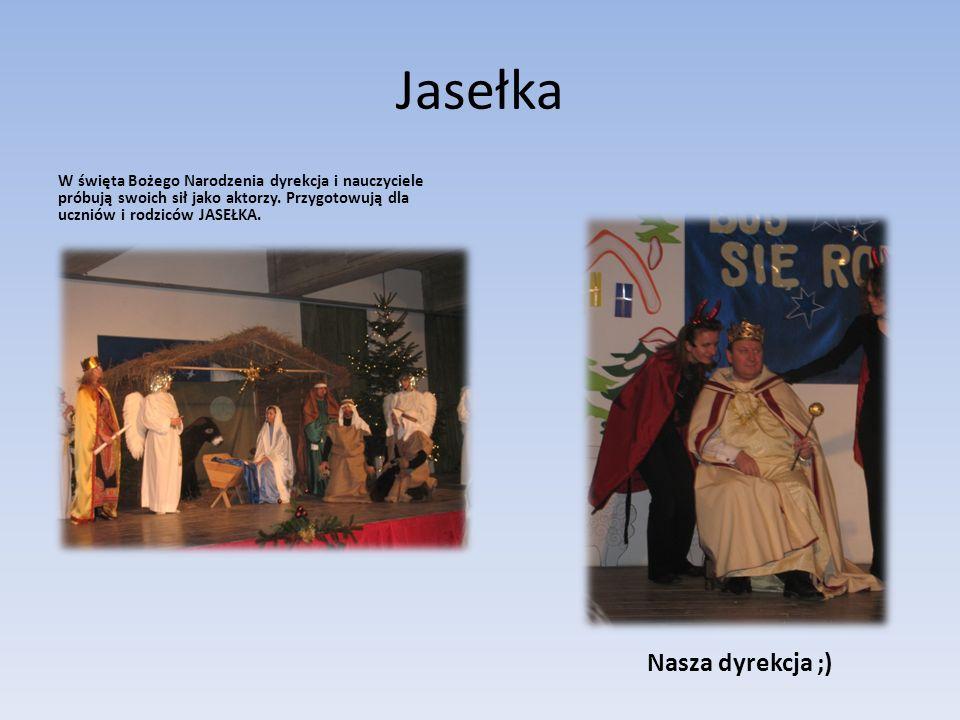 Jasełka Nasza dyrekcja ;)