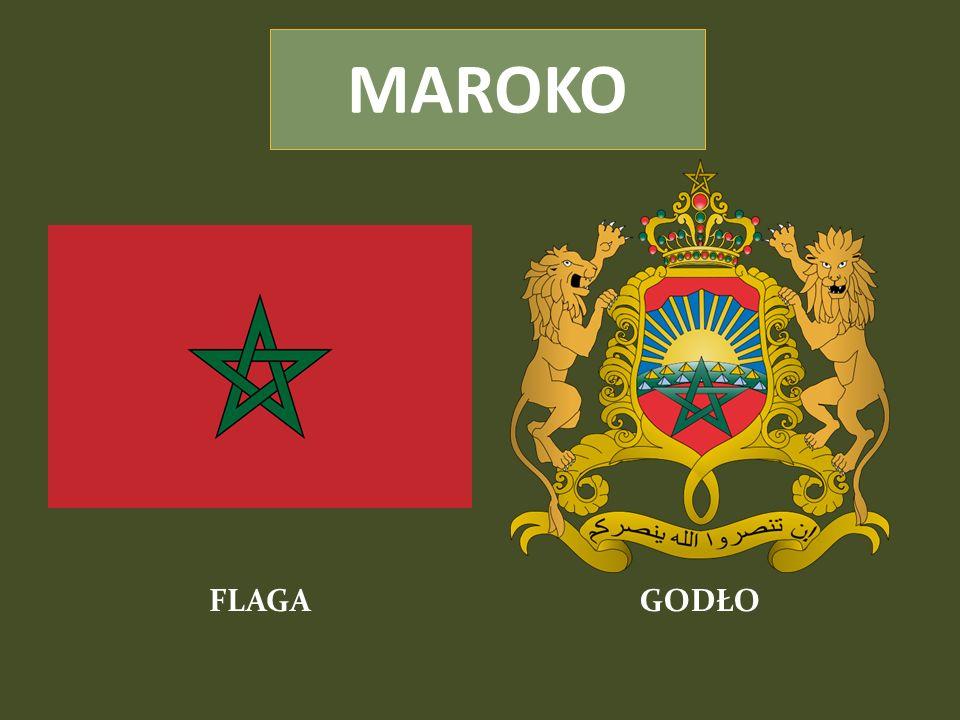 MAROKO FLAGA GODŁO