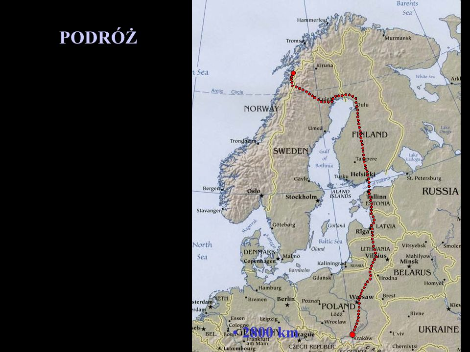 PODRÓŻ 2800 km
