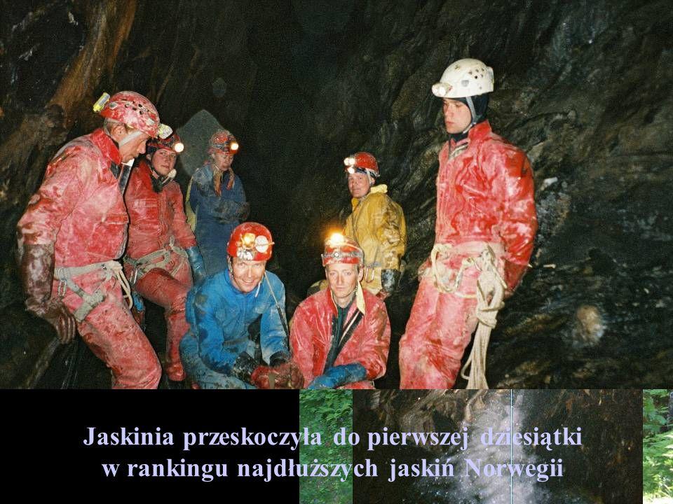 Kolejny cel eksploracyjny Jaskinia Steinaksla