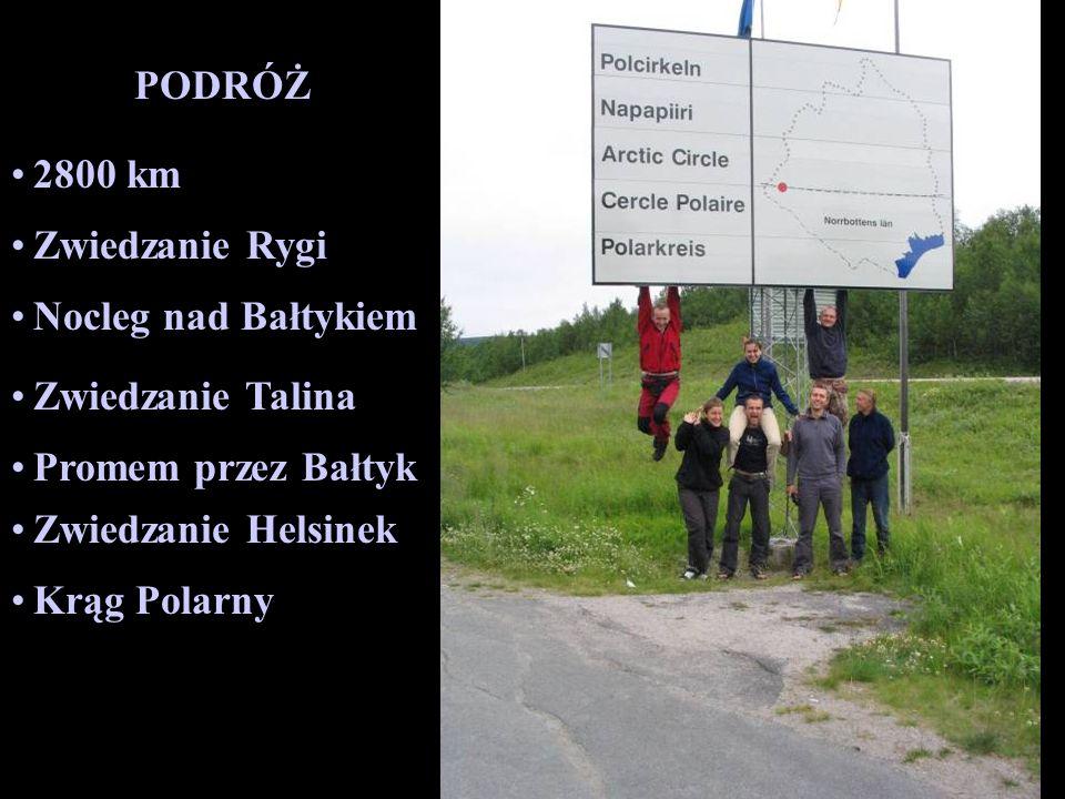 PODRÓŻ 2800 km. Zwiedzanie Rygi. Nocleg nad Bałtykiem. Zwiedzanie Talina. Promem przez Bałtyk. Zwiedzanie Helsinek.