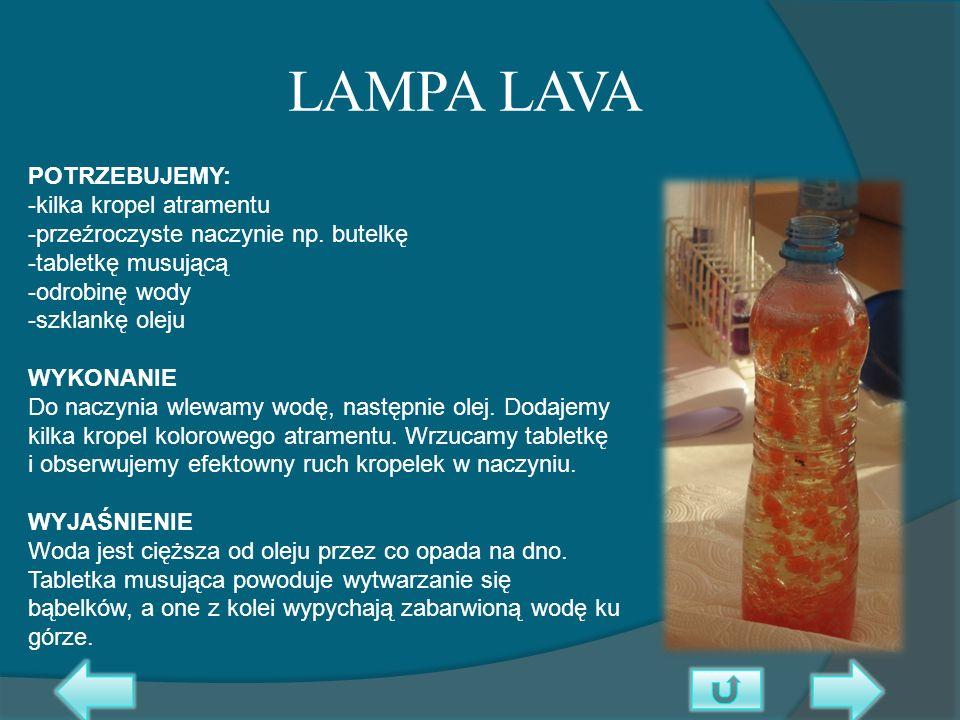 LAMPA LAVA
