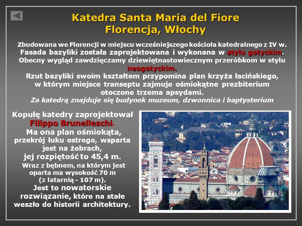 Katedra Santa Maria del Fiore Florencja, Włochy