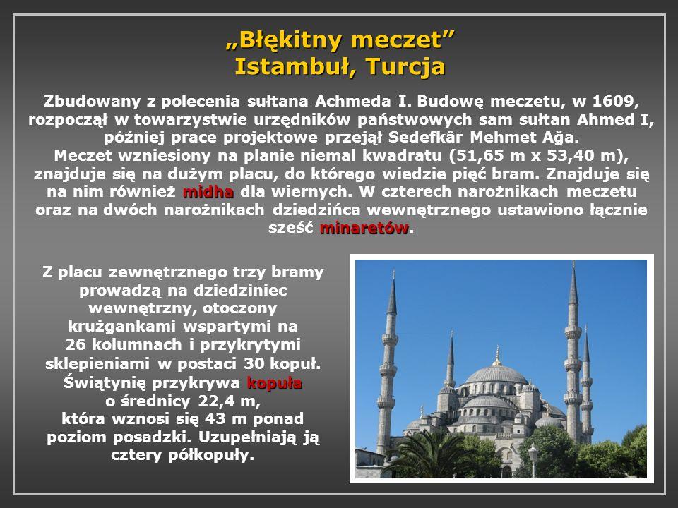 """""""Błękitny meczet Istambuł, Turcja"""