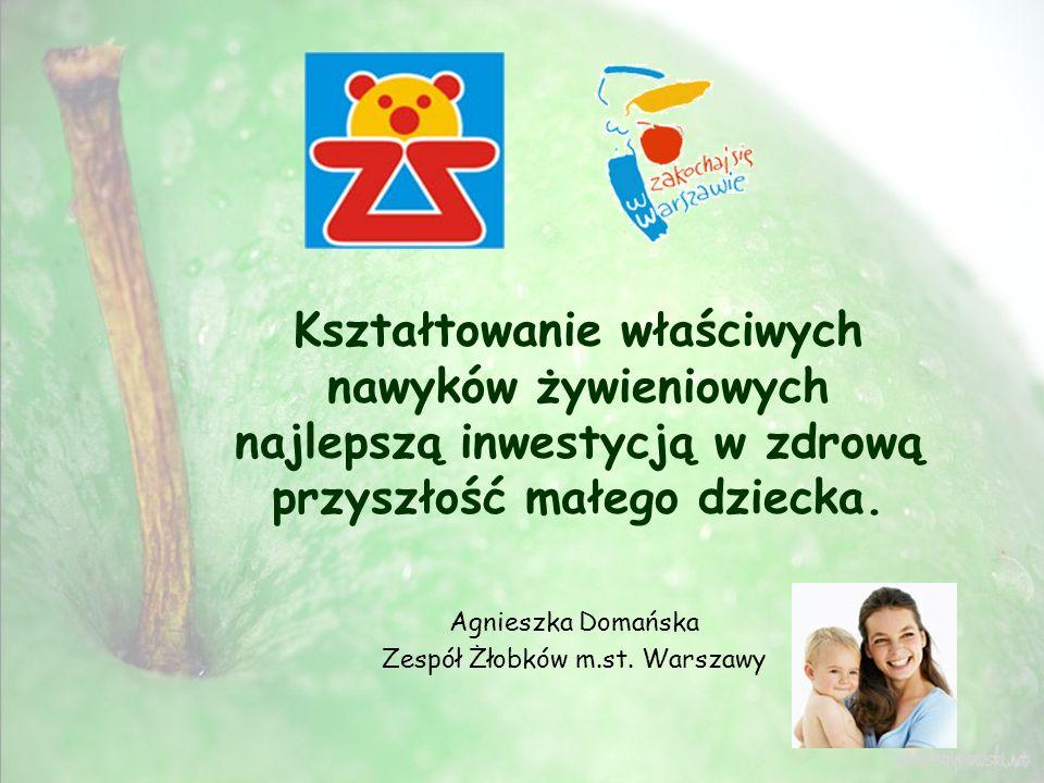 Agnieszka Domańska Zespół Żłobków m.st. Warszawy