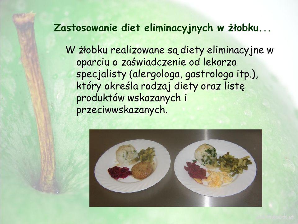 Zastosowanie diet eliminacyjnych w żłobku...