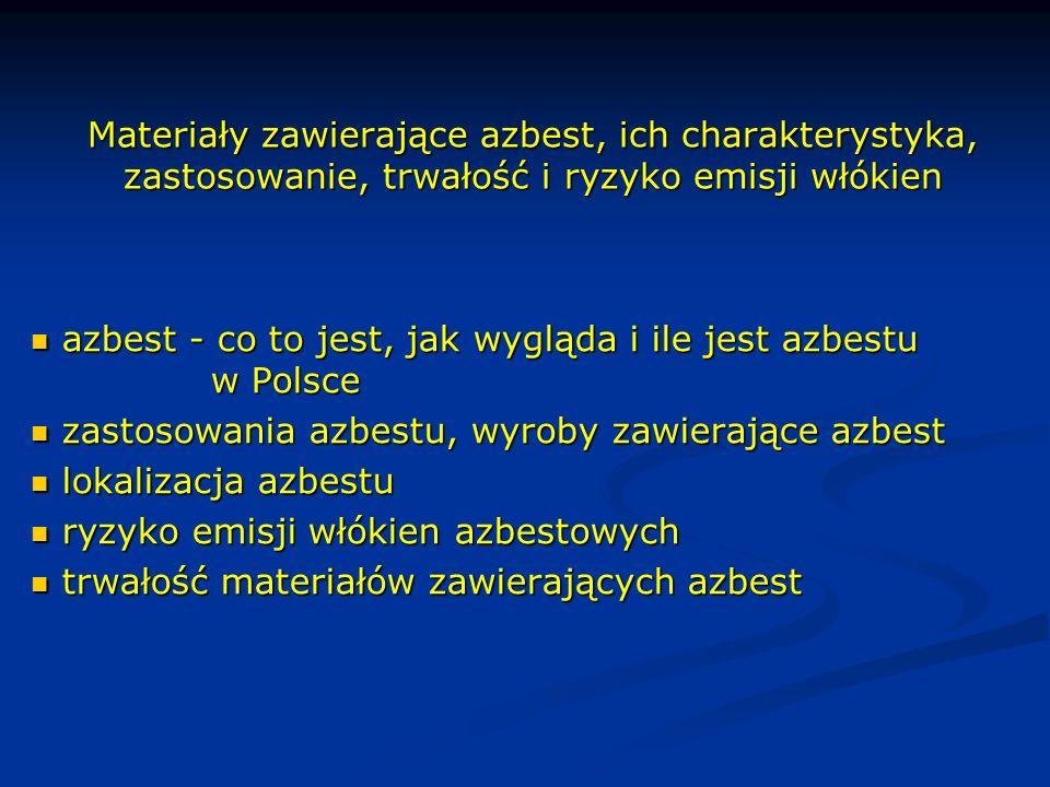 azbest - co to jest, jak wygląda i ile jest azbestu w Polsce