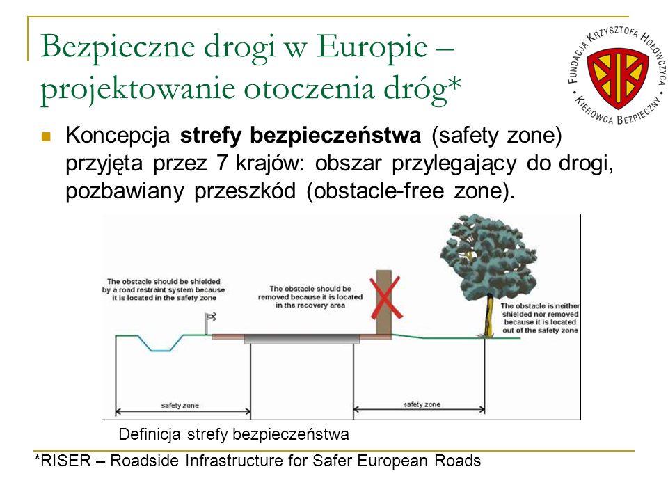 Bezpieczne drogi w Europie – projektowanie otoczenia dróg*