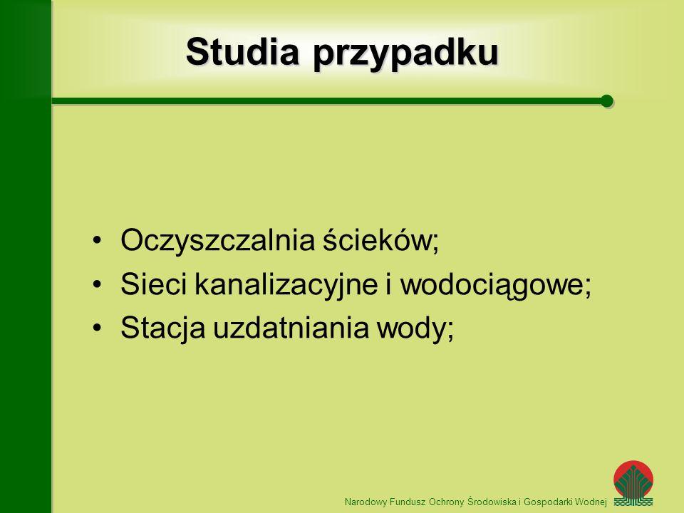 Studia przypadku Oczyszczalnia ścieków;