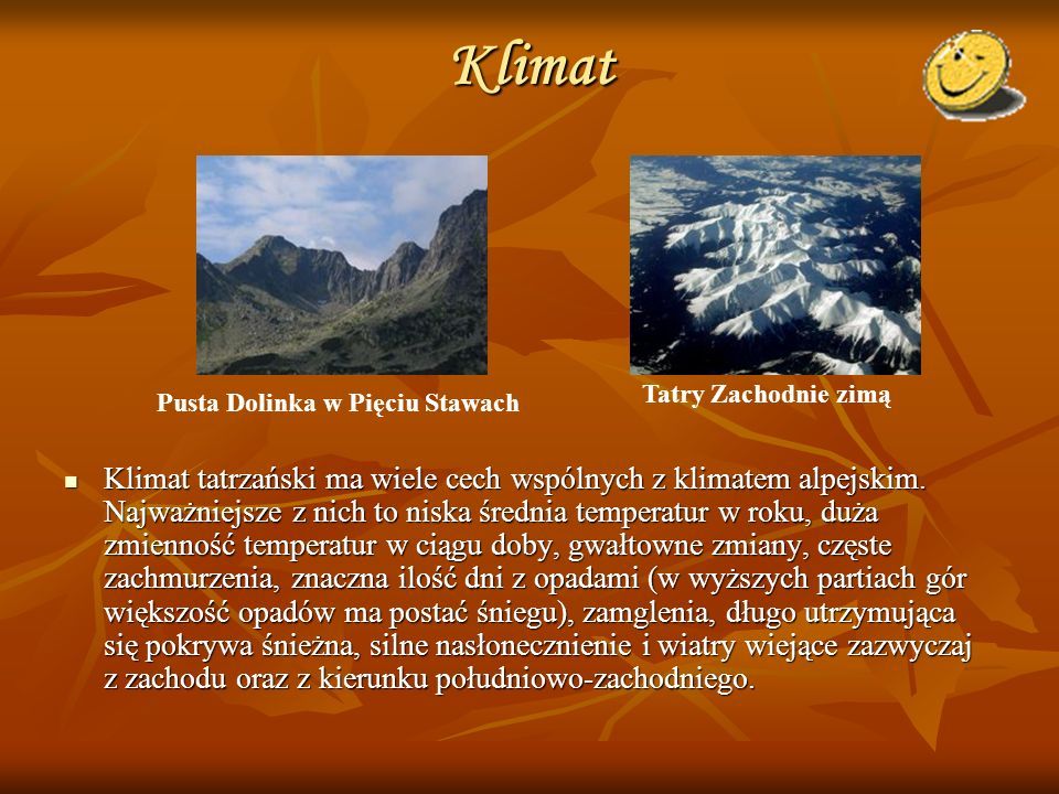 Klimat Tatry Zachodnie zimą. Pusta Dolinka w Pięciu Stawach.