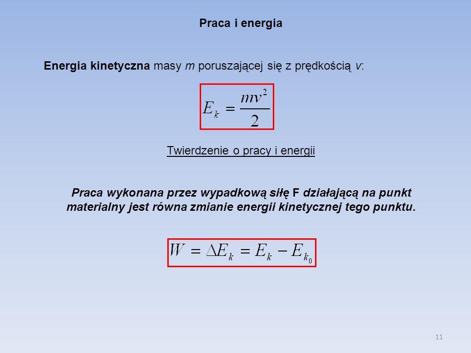 Twierdzenie o pracy i energii