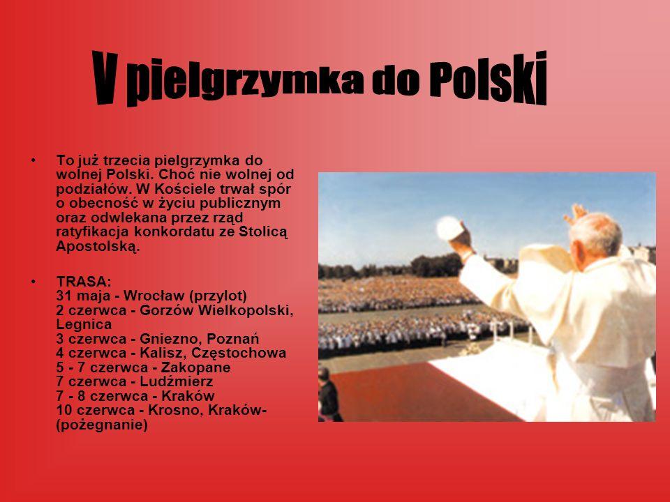 V pielgrzymka do Polski