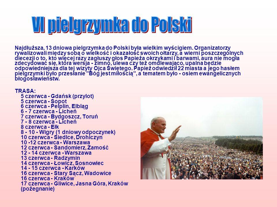 VI pielgrzymka do Polski