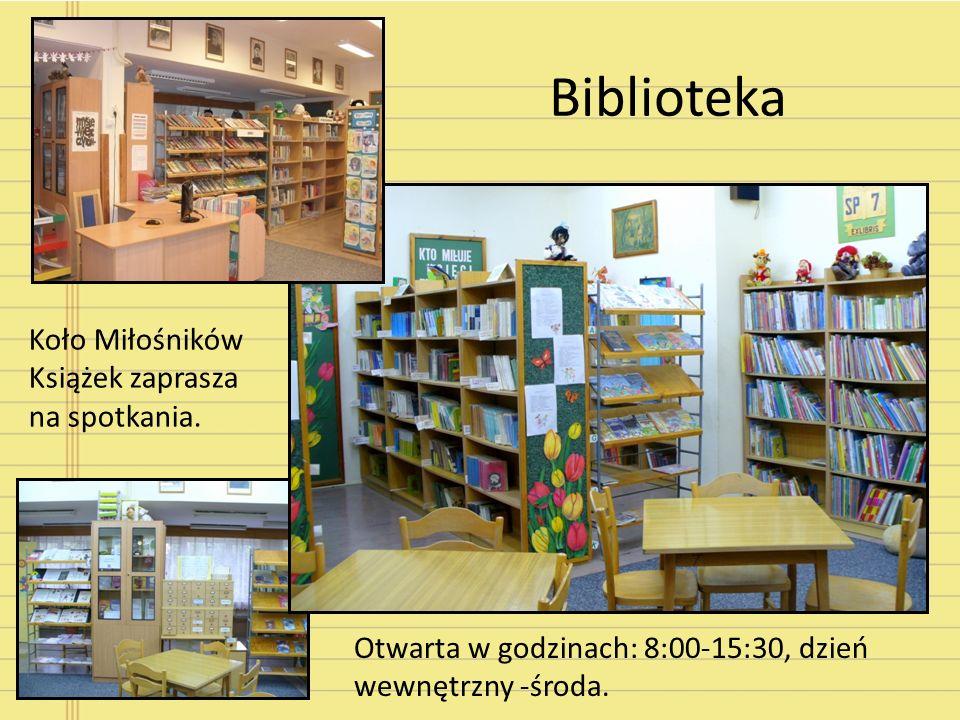 Biblioteka Koło Miłośników Książek zaprasza na spotkania.