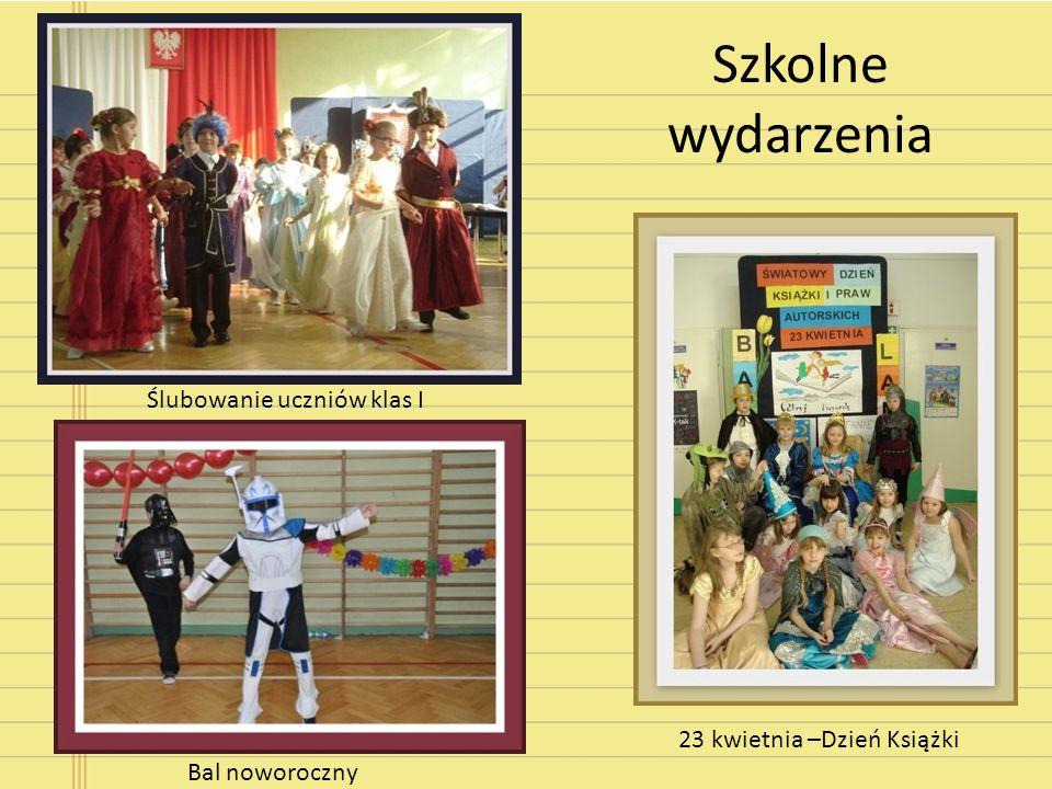 Szkolne wydarzenia Ślubowanie uczniów klas I