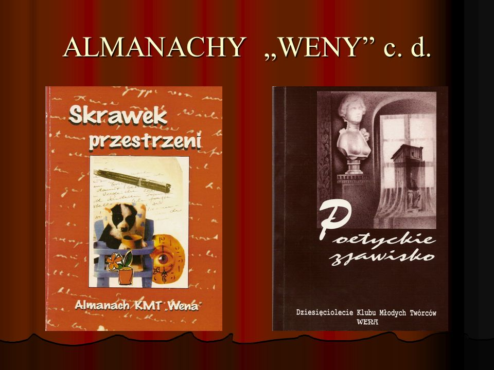 "ALMANACHY ""WENY c. d."