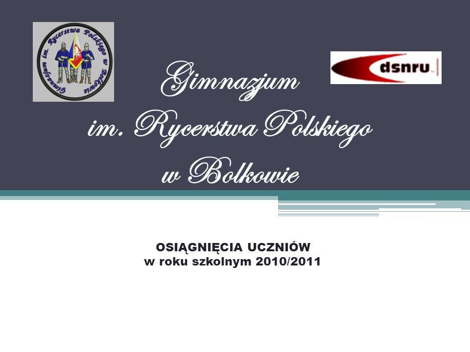 Gimnazjum im. Rycerstwa Polskiego w Bolkowie