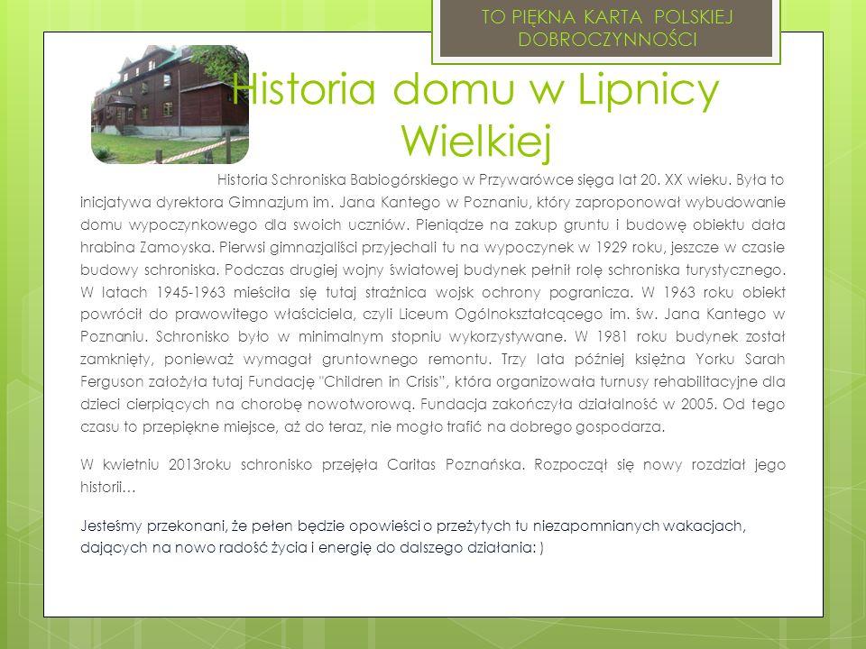 Historia domu w Lipnicy Wielkiej