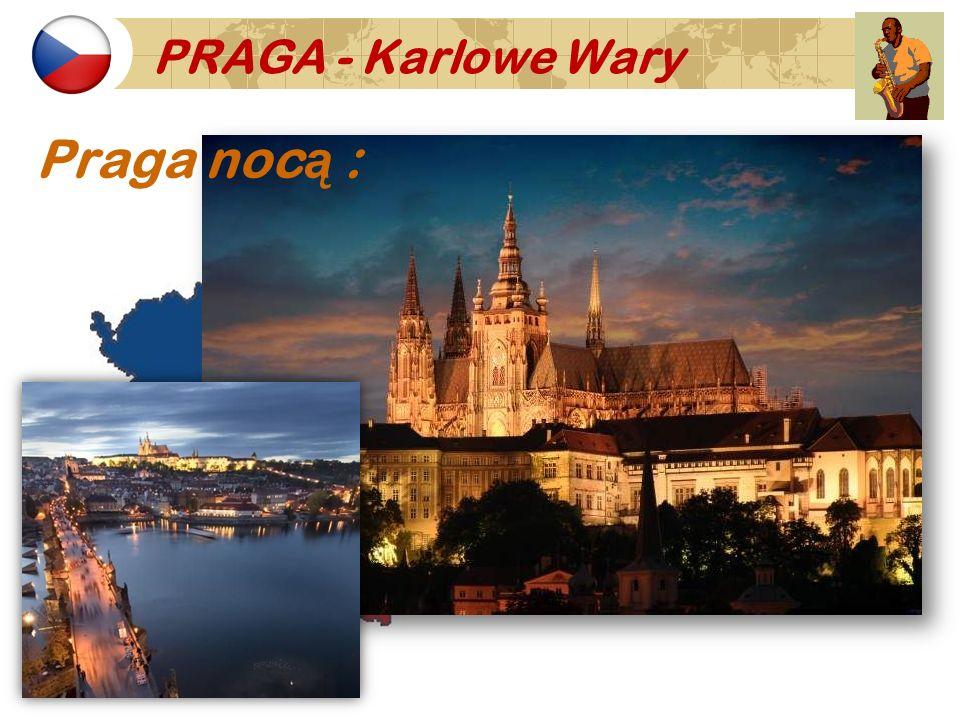 Praga nocą :