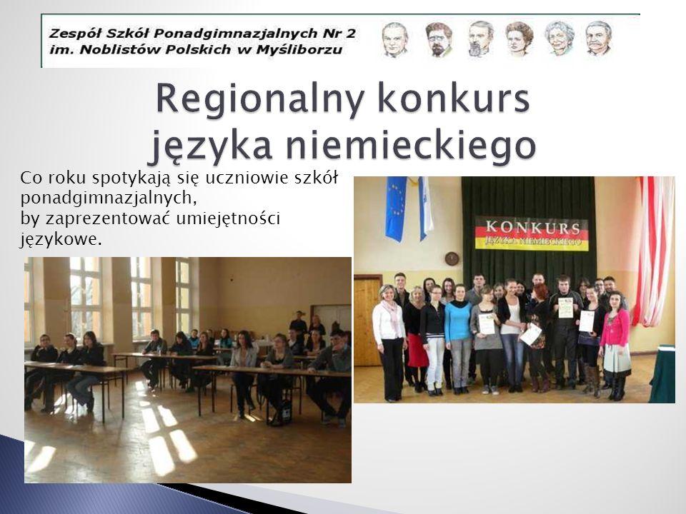 Regionalny konkurs języka niemieckiego