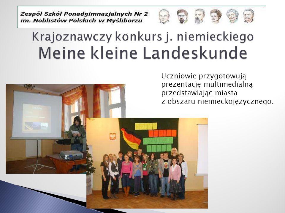 Krajoznawczy konkurs j. niemieckiego Meine kleine Landeskunde