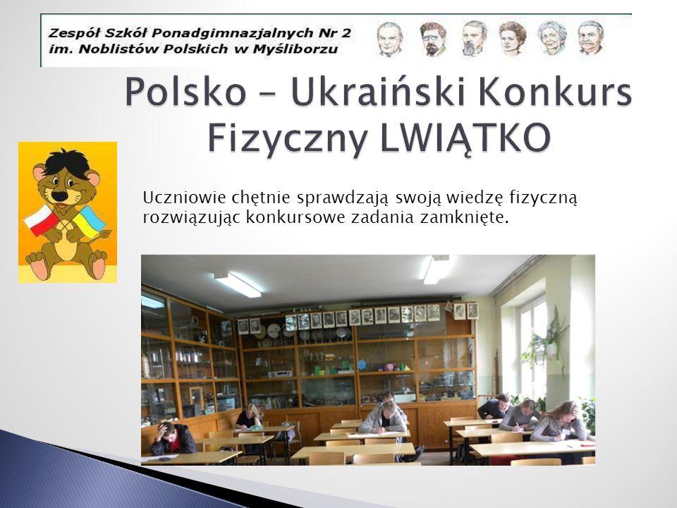 Polsko – Ukraiński Konkurs Fizyczny LWIĄTKO